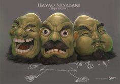 Hayao Miyazaki Offspring: Foto