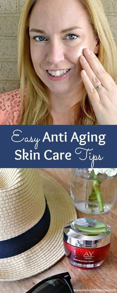4 Easy Anti Aging Skin Care Tips! Learn how to choose the best anti aging skin care products, including drugstore faves like Olay Regenerist Micro Sculpting Cream, for preventing wrinkles (and improving the appearance of existing ones)! Simple skin care t Anti Aging Tips, Best Anti Aging, Anti Aging Cream, Anti Aging Skin Care, Best Skin Care Regimen, Skin Care Tips, Pole Dancing, Skin Care Routine For 20s, Skin Care Cream