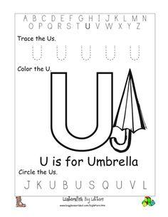 math worksheet : alphabet worksheets for preschoolers  big and little y writing  : Letter U Worksheets For Kindergarten