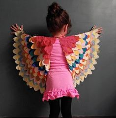 that little girl with wings - so pretty.