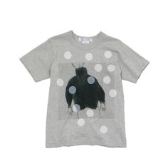 COMME DES GARÇONS, PRINTED T-SHIRT: i always associate polka dots with cdg.