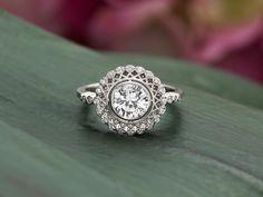 Awesome wedding ring.