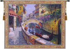 Passage to San Marco Tapestry Wall Art Hanging
