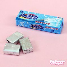 Hi-Chew candy (white soda)