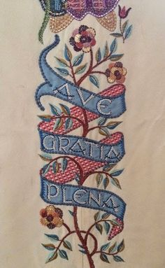 Ecclesiastical embroidery at St Luke's