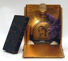 RARE 1929 MARQUES DE ELORZA VALENCIA PERFUME JULIEN VIARD BOTTLE ORIGINAL BOX