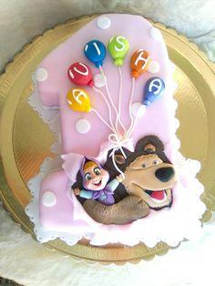 Torta numero 1 masha e orso