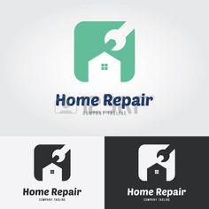 logotipo inmobiliaria: Logo Inicio de reparación.