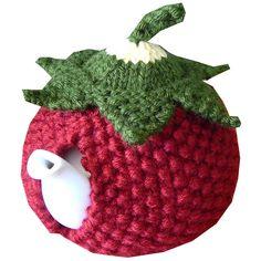 Unique hand made knitted tea cosies Crochet Kitchen, Crochet Home, Crochet Crafts, Crochet Geek, Form Crochet, Hand Crochet, Tea Cosy Knitting Pattern, Tea Cosy Pattern, Baby Knitting Patterns