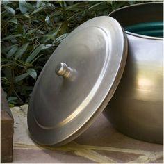 CobraCo Moderne Steel Hose Holder Lid