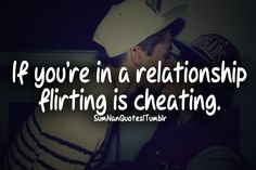Flirting is cheating.  It's even worse when you do it in front of your significant other when they take you out on a date.