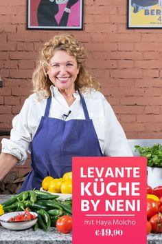 Zeit für Balagan! Im Online-Kochkurs zeigt dir Haya Molcho von NENI die Grundlagen der levantinischen Küche: bunt, gesund und super lecker! Jetzt ausprobieren! Super, Bunt, Health, Cooking, Recipies