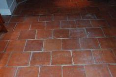 Floor tile from Ajeer Flagstone Flooring, Porch Flooring, Kitchen Flooring, Quarry Tiles, Terracotta Floor, Room With Plants, Room Tiles, Floor Finishes, Beautiful Kitchens