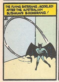 """Tec 31 - The """"Bat"""" gadgets begin. First Batrang."""