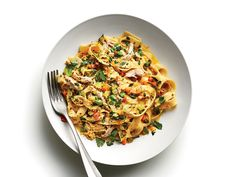 Fettuccine with White 