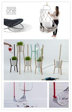 Mut Design, Diseño, Design, Macetas, Pot de fleurs, Balancelle, Silla, Chair --- I looks the swing's seat