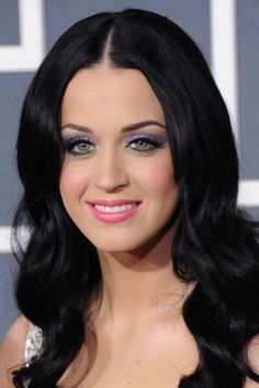 Katy Perry's Hair History: Raven beauty in 2011