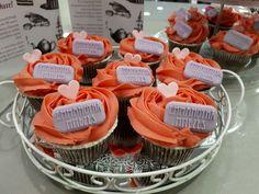 Cup cakes σοκολάτας με κοραλλί βουτυρόκρεμα! #cupcakes #bezelicious #skg #thessaloniki