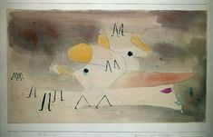 Paul Klee 'Ghost and Followers' 1930