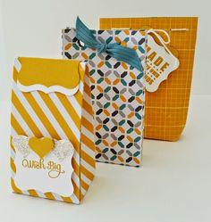 Moonlight Mini Gift Bags - Papercraft Button