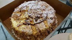 Burnt almond cake