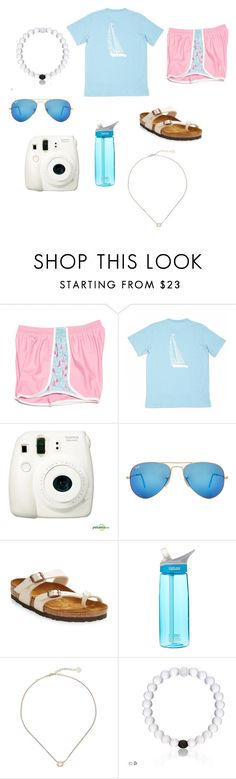 """""""Day 5"""" by elizabethkendall3 ❤ liked on Polyvore featuring CO, Ray-Ban, Birkenstock, CamelBak, Kendra Scott and sydneyscampcontest16"""