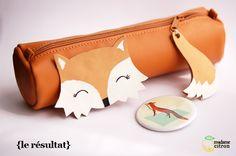 DIY spécial rentrée des classes : la trousse kawaii fox