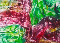 Encaustic auf Papier, besteht aus 2 Bildern 60x42 cm (insg. 120x84) ist ein Duo, ohne Rahmen Paper, Frame, Abstract, Painting Art, Pictures
