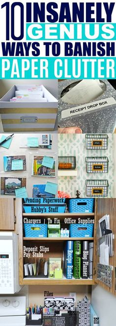 Organizing Paperwork Ideas