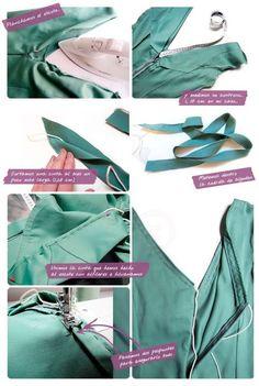 Cómo hacer un vestido de flamenca Parte 1 de 6 : Diseño general y confección del cuerpo del vestido