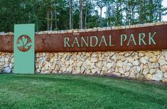 """Creative Sign Designs integrated Cor-Ten weathering steel and aluminum to create this stylish entry statement for Randal Park, an upscale Orlando development.<br /><br /><a href=""""/content/creative-sign-designs-monument-signs-create-beautiful-front-doors-upscale-properties"""" class=""""active"""">View Image Details</a>"""