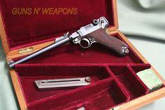 Artillery Luger dated 1917 in nice wood presentation case