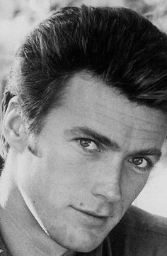 Clint Eastwood so darn handsome! Clint And Scott Eastwood, Actor Clint Eastwood, Hollywood Men, Hollywood Stars, Classic Hollywood, Native American Actors, Jolie Photo, Portraits, Good Looking Men
