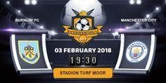 Prediksi Bola Jitu Burnley vs Manchester City 3 February 2018 yang akan berlangsung pada laga pertandingan Kompetisi Liga Inggris Premier League ditayangkan pada hari Minggu, 03 Februari 2018. Pada Pukul 19:30 WIB di Stadion AWD-Arena.