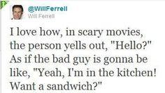 I love you will ferrell