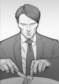 Hannibal by PatrickBrown on deviantART