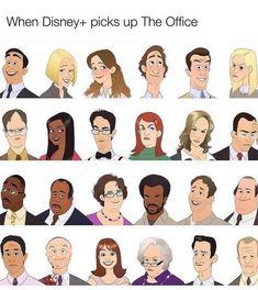 Don't be a caricature, Kevin. Really Funny Memes, Stupid Funny Memes, Funny Relatable Memes, Hilarious, Best Of The Office, The Office Show, Kevin The Office, The Office Characters, Cartoon Characters