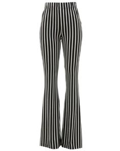 9658d0134b1 Gangsta Pranksta Striped Pinstripe Bell Bottom Pants