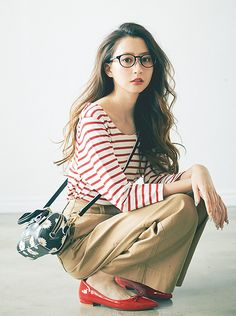 This is how Honey would dress, v cute clothes Korean Fashion Trends, Korea Fashion, Japan Fashion, Daily Fashion, Spring Fashion, Modest Fashion, Fashion Dresses, Weekend Style, Fashion Pictures