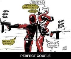Deadpool and Harlequinn - Perfect Couple
