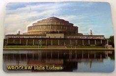 Pamiątkowy Magnes 3D Hala Ludowa Wrocław   Pamiątkowe Magnesy   Upominki24.com
