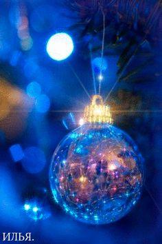 Merry Christmas & Happy New Year ! Christmas Tree Gif, Xmas Gif, Holiday Gif, Christmas Scenes, Christmas Candles, Merry Christmas And Happy New Year, Blue Christmas, Christmas Pictures, All Things Christmas