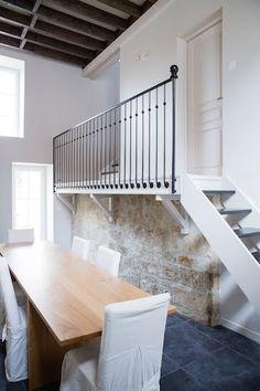 Rénovation d'une maison en pierre, Pierrefonds (60)