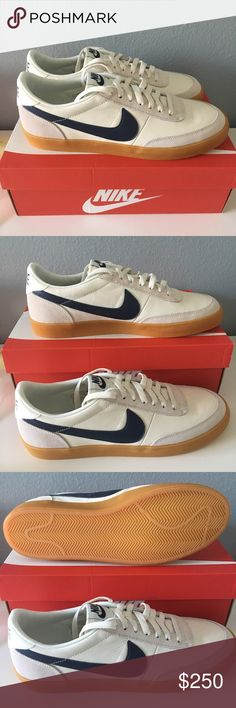 NWT RARE JCREW Nike Killshot 2 Leather size 12 Brand new Killshots 2 in Midnight Navy. Never used or worn. Authentic. Size 12. Sold out at J crew! nike Shoes Sneakers