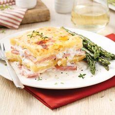 Gratin de pommes de terre au jambon - Soupers de semaine - Recettes 5-15 - Recettes express 5/15 - Pratico Pratique