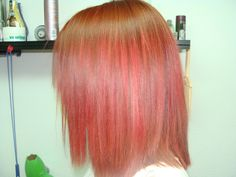 Eléctrico🚏🚏#red #redhair #color #hairstyle