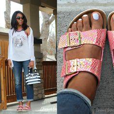 Diese lässigen #Sandalen regieren den #Sommer! Hier findest Du die tollen #Birkenstock Sandalen  ♥ http://www.stylefru.it/s207392 ♥