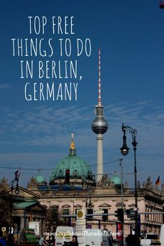 Berlin has so many free things to do, it's hard to choose. Here are some of the top free things to do in Berlin you should certainly not miss. Europe Tourism, Europe Destinations, Europe Travel Tips, European Travel, Budget Travel, Euro Travel, Travel Articles, Travel Abroad, Book Burning
