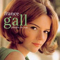 France Gall (born Isabelle Geneviève Marie Anne Gall on 9 October 1947 in Paris) is a popular French yé-yé singer. Gall was married to, and had a successful . France Gall, French Pop, Serge Gainsbourg, Easy Listening, Music Songs, Music Videos, French Songs, Singing Career, Popular Music