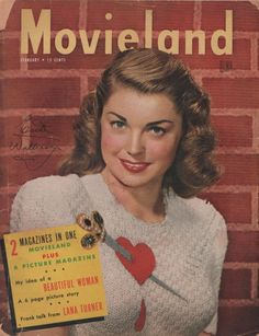 Esther Williams on the February 1947 Movieland